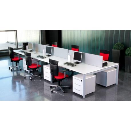 Compacto mod nix recto mobiliario de oficina nuevo y for Muebles de oficina usados en xalapa