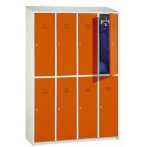 Taquilla con puertas de 25 o 33 cm.