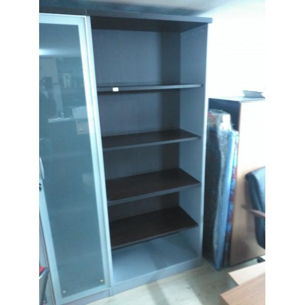Armario alto sin puertas mobiliario de oficina nuevo y usado en madrid - Armario sin puertas ...